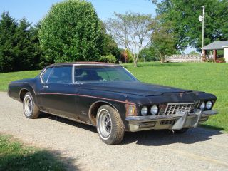 1972 Buick Riviera Base Hardtop 2 - Door 7.  5l photo