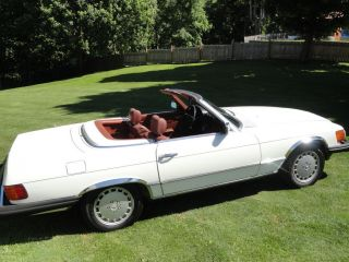 Mercedes 1981 380 Sl Both Tops And Exc.  Cond photo
