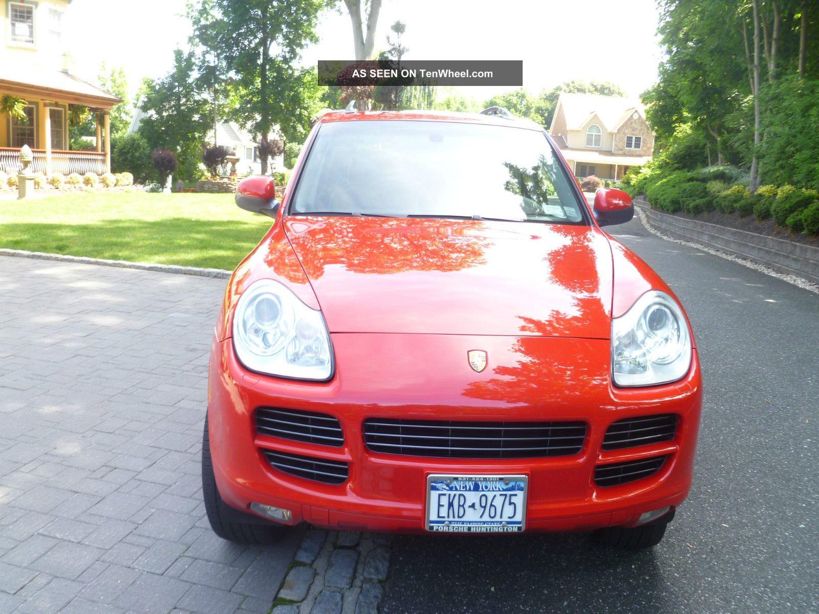 2006 Porsche Cayenne S Sport Utility 4 Door 4 5l Owner