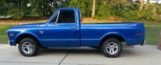 1968 Chevy C10 Cst Shortbed Truck - Fresh 350 W / 200r4 Overdrive photo