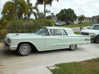1960 Ford Thunderbird Base Hardtop 2 - Door 5.  8l photo