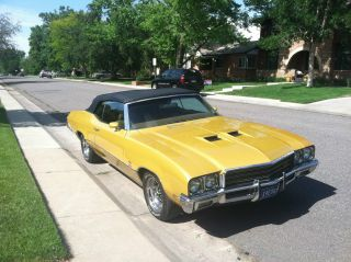 1971 Buick Gs 455 Base 7.  5l Convertible photo