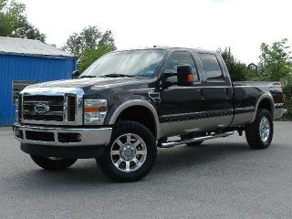 2008 Ford F350 Lariat 4x4 Off Road 6.  4l V8 Power Stroke Diesel Crew Cab Long Bed photo