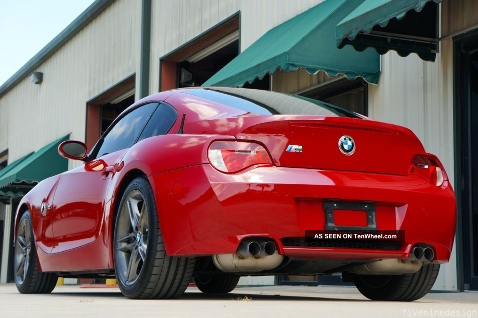 2007 Bmw Z4m Coupe Imola Red 1 1815 Every Option