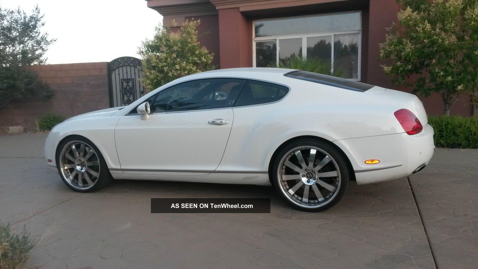 White Bentley Continental Gt Lgw