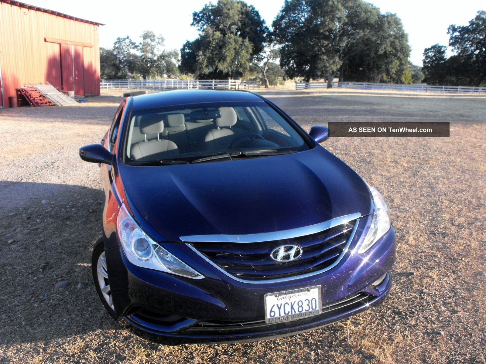 2013 Hyundai Sonata Gls Sedan 4 - Door 2.  4l Sonata photo