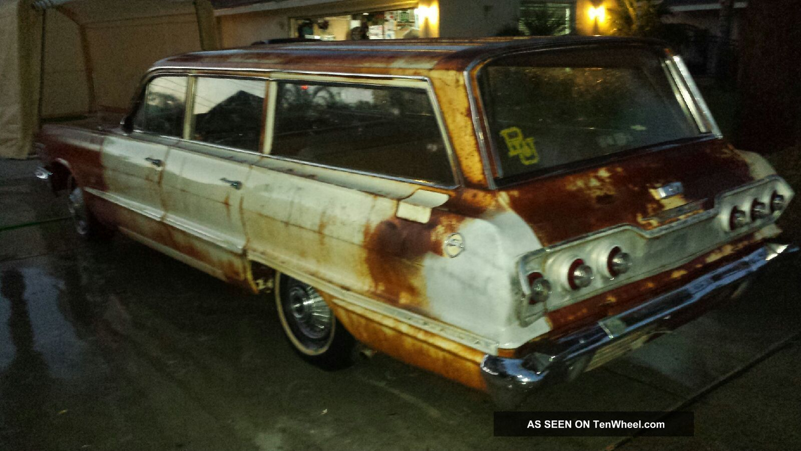 1963 rare classic chevy station wagon hot rod low rider