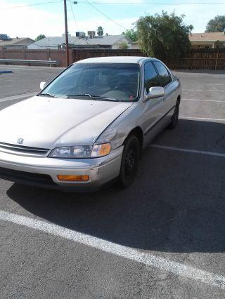 1995 Honda Accord Lx Sedan 4 - Door 2.  2l photo