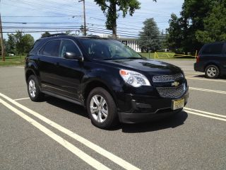 2010 Chevy Equinox Lt Black photo