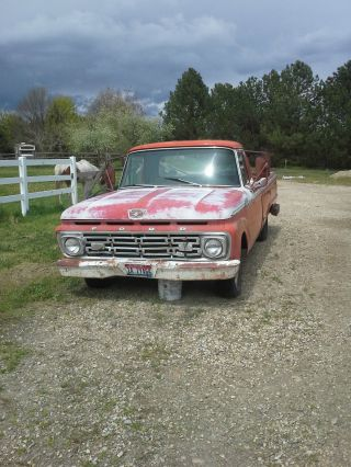 1964 Ford - 100 Custom Cab 1 / 2 Ton Pickup photo
