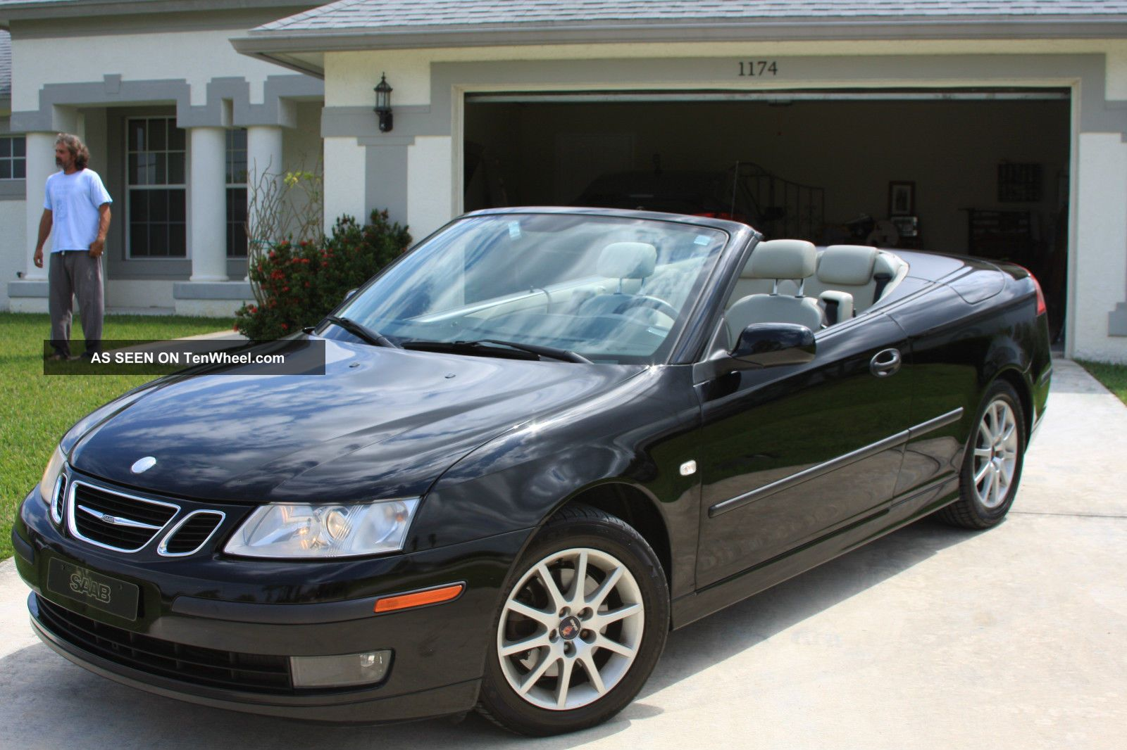2005 Saab 9 - 3 Arc Convertible 2 - Door 2.  0l 9-3 photo