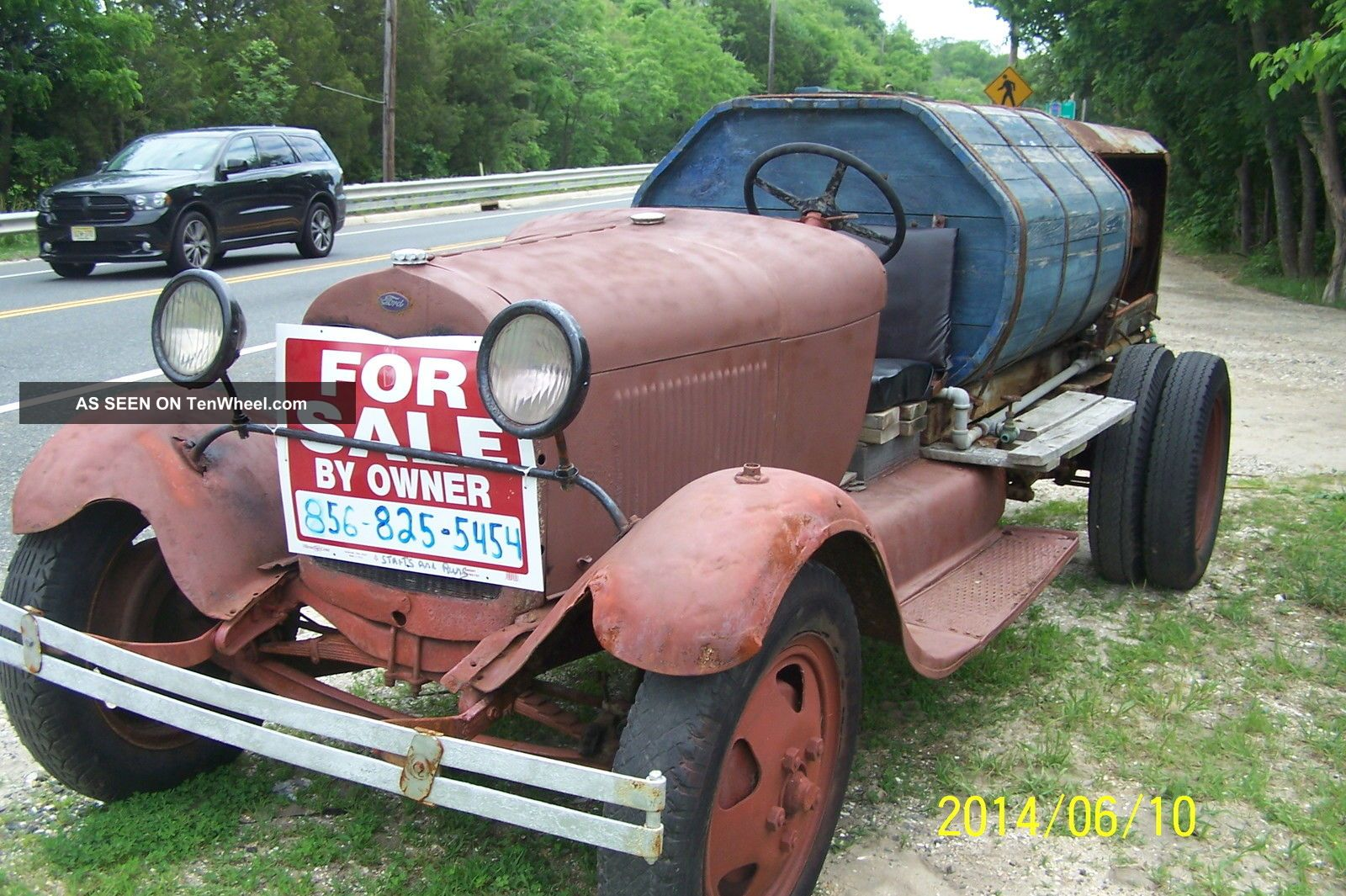 1930 Ford Model Aa Truck 200.  5ci 4 Cly 4 Speed Other Pickups photo