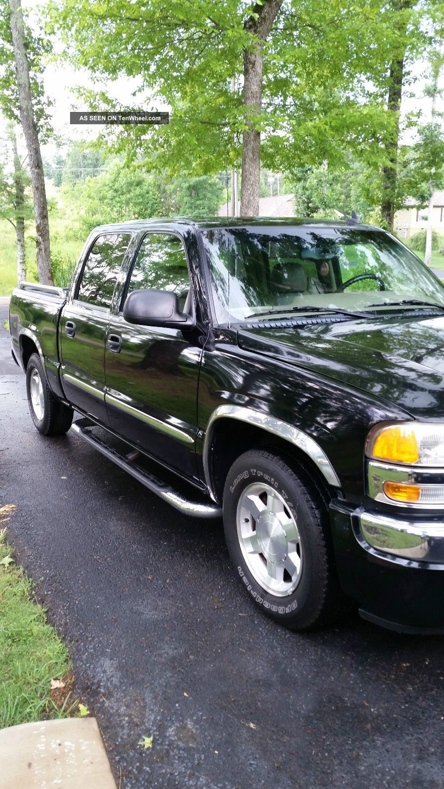 2006 gmc sierra 1500 slt crew cab pickup 4 door 5 3l. Black Bedroom Furniture Sets. Home Design Ideas
