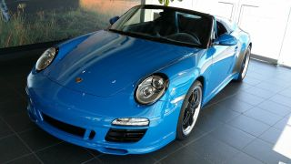 2011 Porsche 911 Speedster Convertible - Pure Blue photo