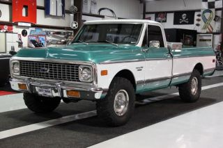 1971 Chevrolet K / 10 Custom 4x4 Pickup Truck photo