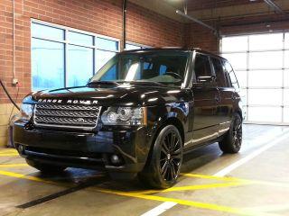 2010 Land Rover Range Rover Hse Sport Utility 4 - Door 5.  0l photo