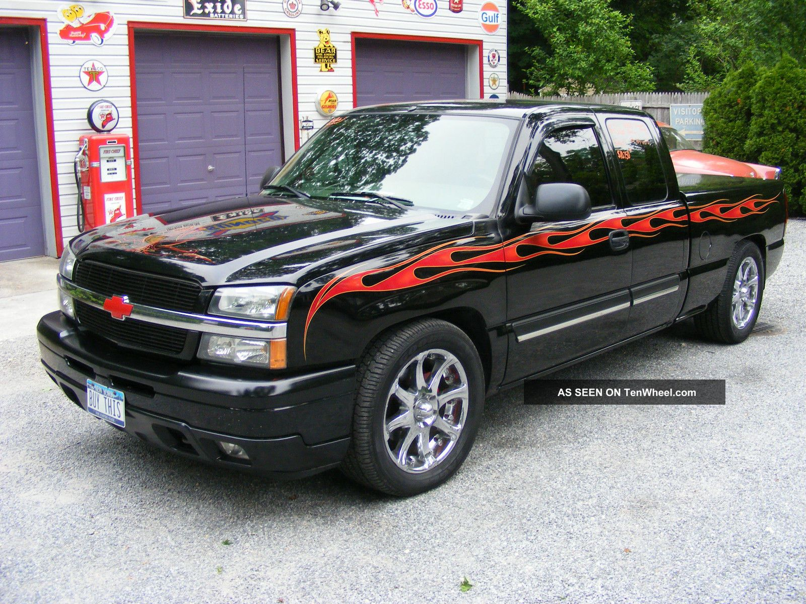 2005 chevrolet silverado 1500 lt extended cab pickup hotrod custom. Black Bedroom Furniture Sets. Home Design Ideas