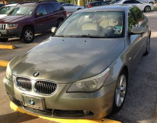 2005 Bmw 545i Base Sedan 4 - Door 4.  4l, , ,  8 Cylinder photo