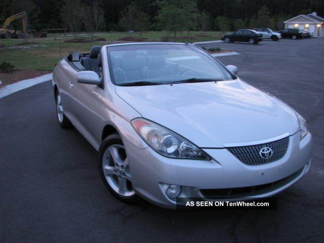 2006 Toyota Solara Sle Convertible 2 - Door 3.  3l Solara photo