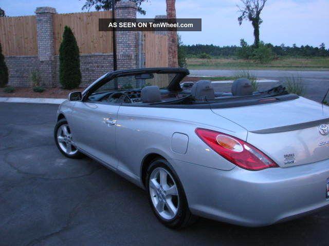2006 Toyota Solara Sle Convertible 2 Door 3 3l