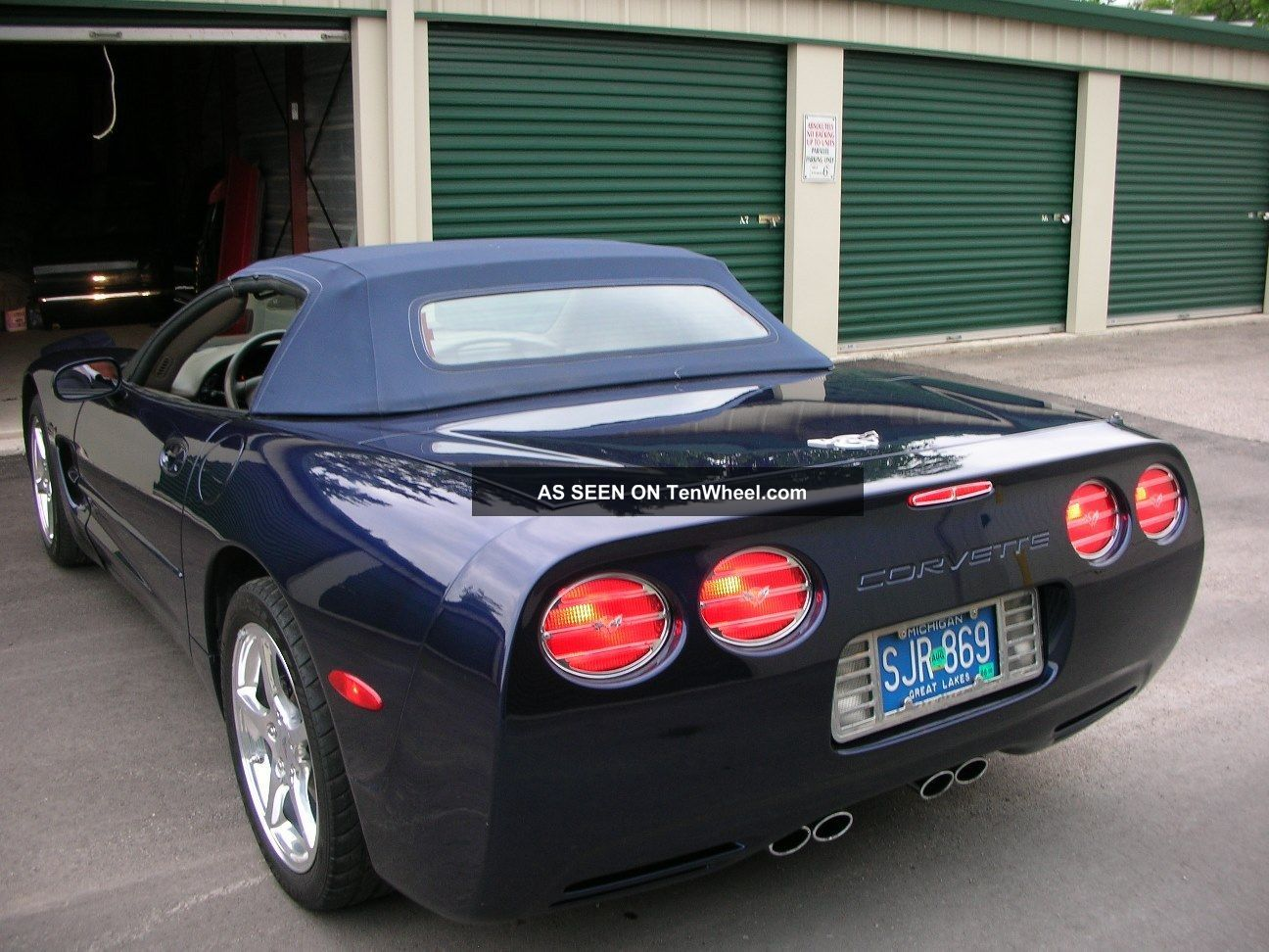 Collectable Convertible Corvette Complete Commemorative Edition Lgw on 2000 Chrysler Sebring Owners Manual