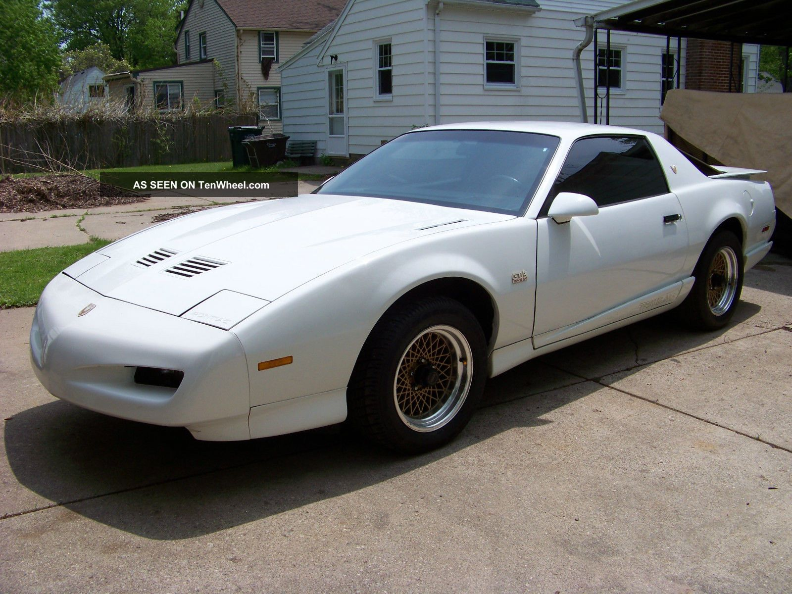 1991 Pontiac Trans Am Gta Ws6 Vortech Supercharged 350
