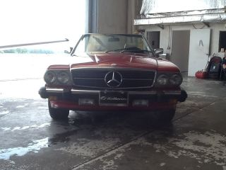 1987 Mercedes 560sl Roadster photo