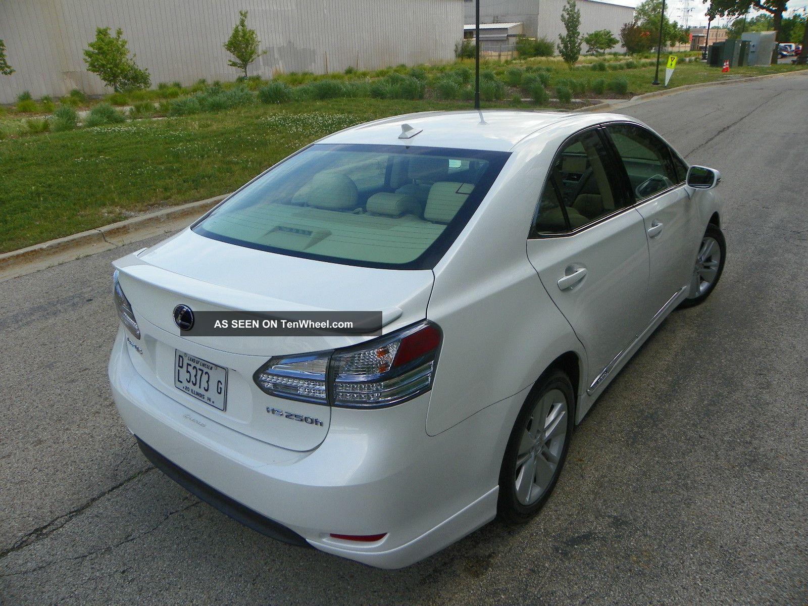 2010 lexus hs 250h service manual