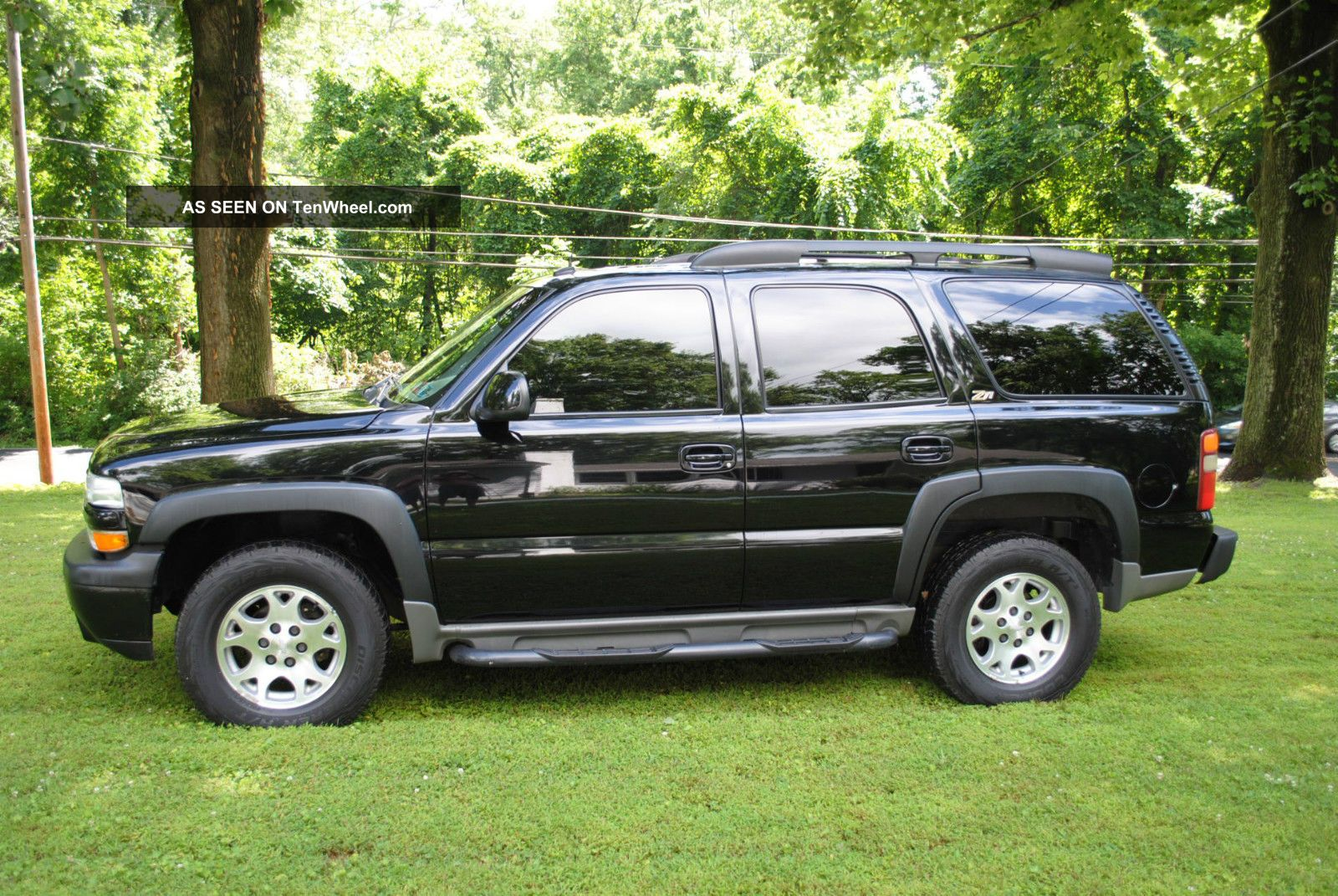 2002 Chevrolet Tahoe Z71 All Black And Very
