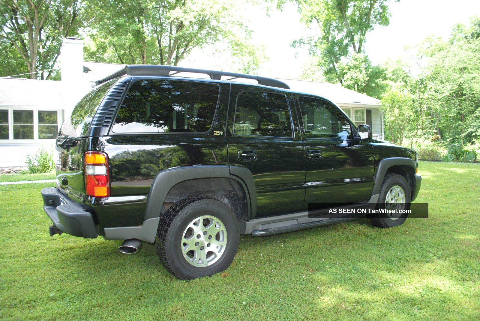 Chevrolet Tahoe Z All Black And Very Lgw on 2002 Chev Tahoe