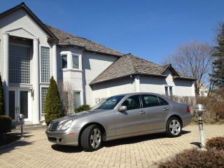 2006 Mercedes - Benz E500 4matic Sedan 4 - Door 5.  0l photo