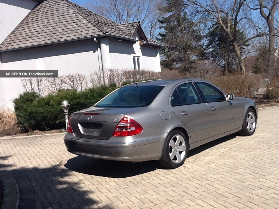 2006 Mercedes Benz E500 4matic Sedan 4 Door 5 0l