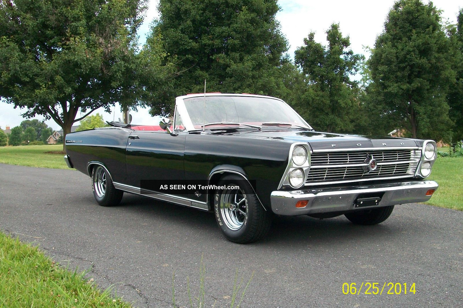 1966 Ford Fairlane 500 Convertible on 2014 mustang all wheel drive
