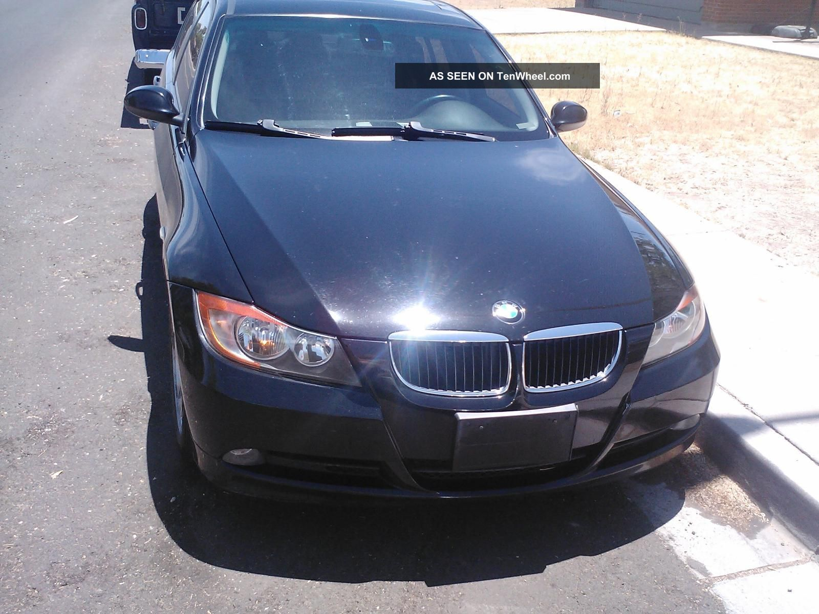2007 328i Bmw 4 Door Sedan Black Inside And Out 3-Series photo