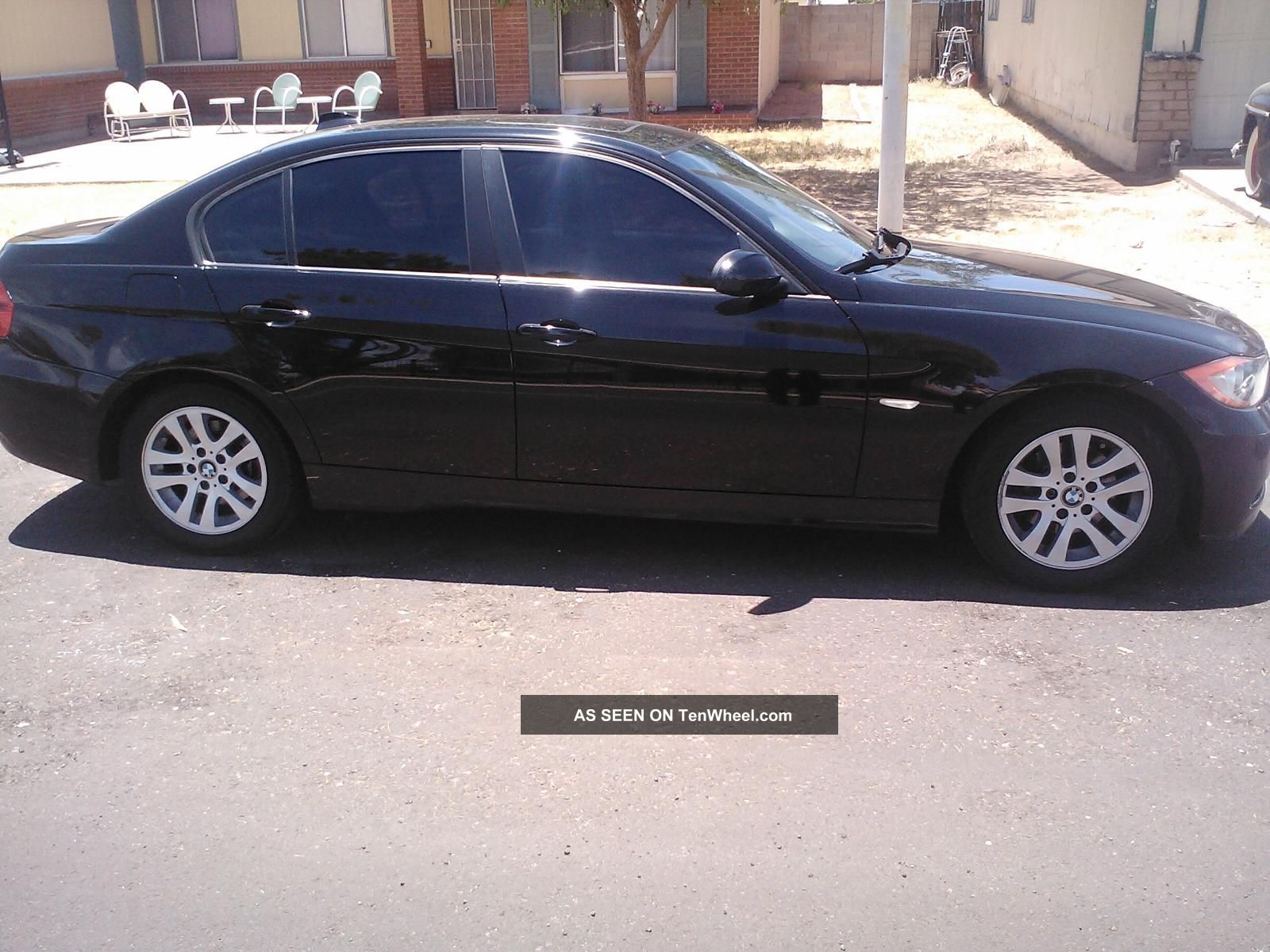 2007 328i Bmw 4 Door Sedan Black Inside And Out