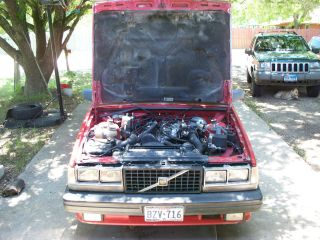 1988 Volvo 740 Gle Sedan 4 - Door 2.  3l photo