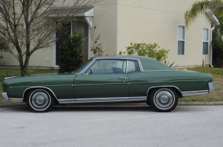 1970 Chevrolet Monte Carlo,  Green On Green,  Cold A / C,  Power Disc Brakes photo