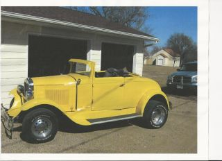 1929 Chevrolet Cabriolet Hot Rod photo
