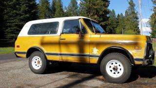 1971 Chevrolet Blazer K5 2 - Door photo