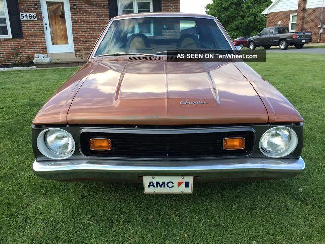 1972 Gremlin X - Trim Worked 372 Amc Power AMC photo