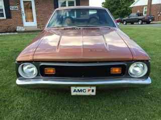 1972 Gremlin X - Trim Worked 372 Amc Power photo