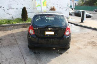 2010 Chevrolet Aveo5 Ls Hatchback Sedan 4d Black photo