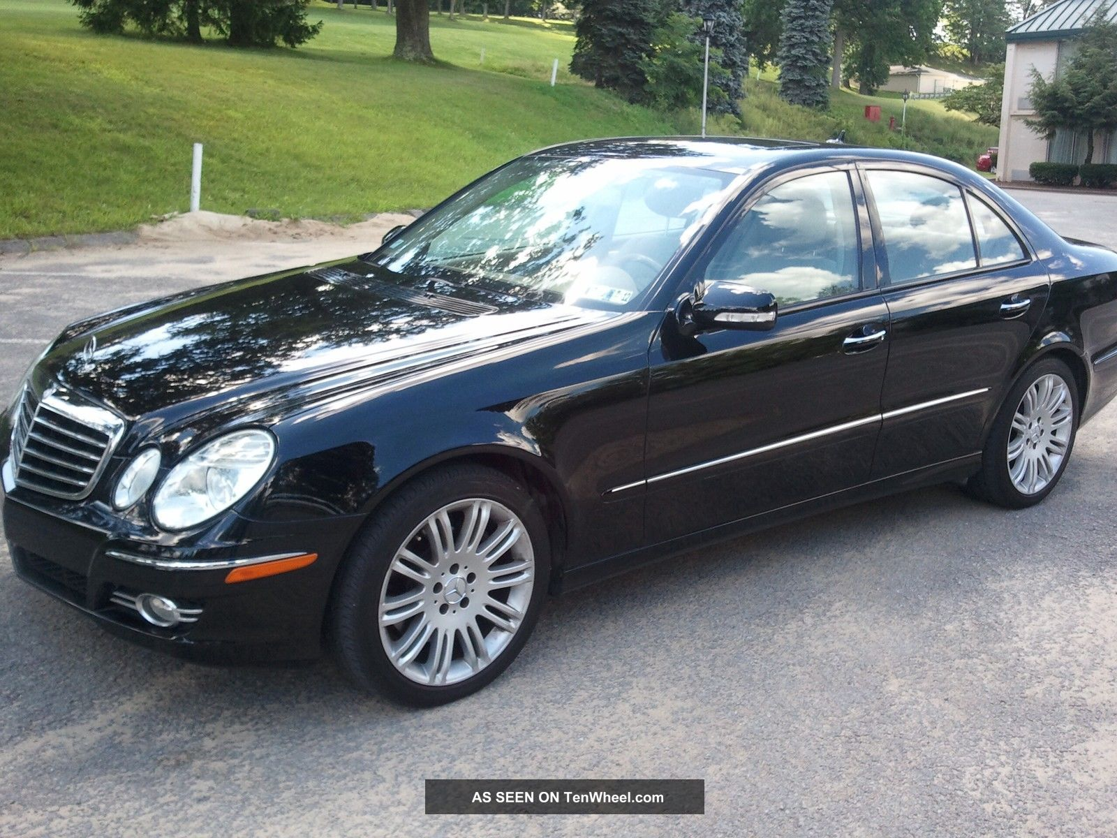 2007 mercedes benz e350 4matic. Black Bedroom Furniture Sets. Home Design Ideas