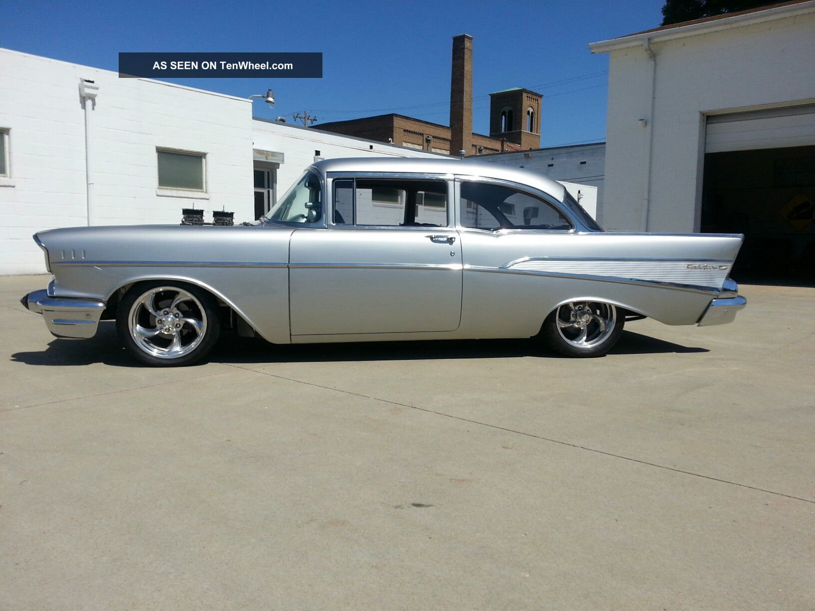1957 Chevrolet Street Machine Restomod Hotrod Car Blown 355 V8 Bel Air/150/210 photo