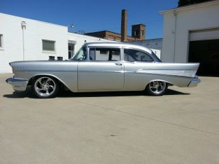 1957 Chevrolet Street Machine Restomod Hotrod Car Blown 355 V8 photo