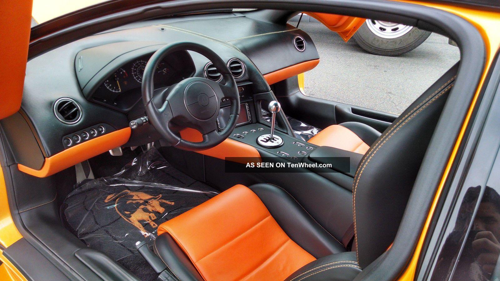 2007 Lamborghini Murcielago Lp640 Rare 6 Speed Manual Transmission
