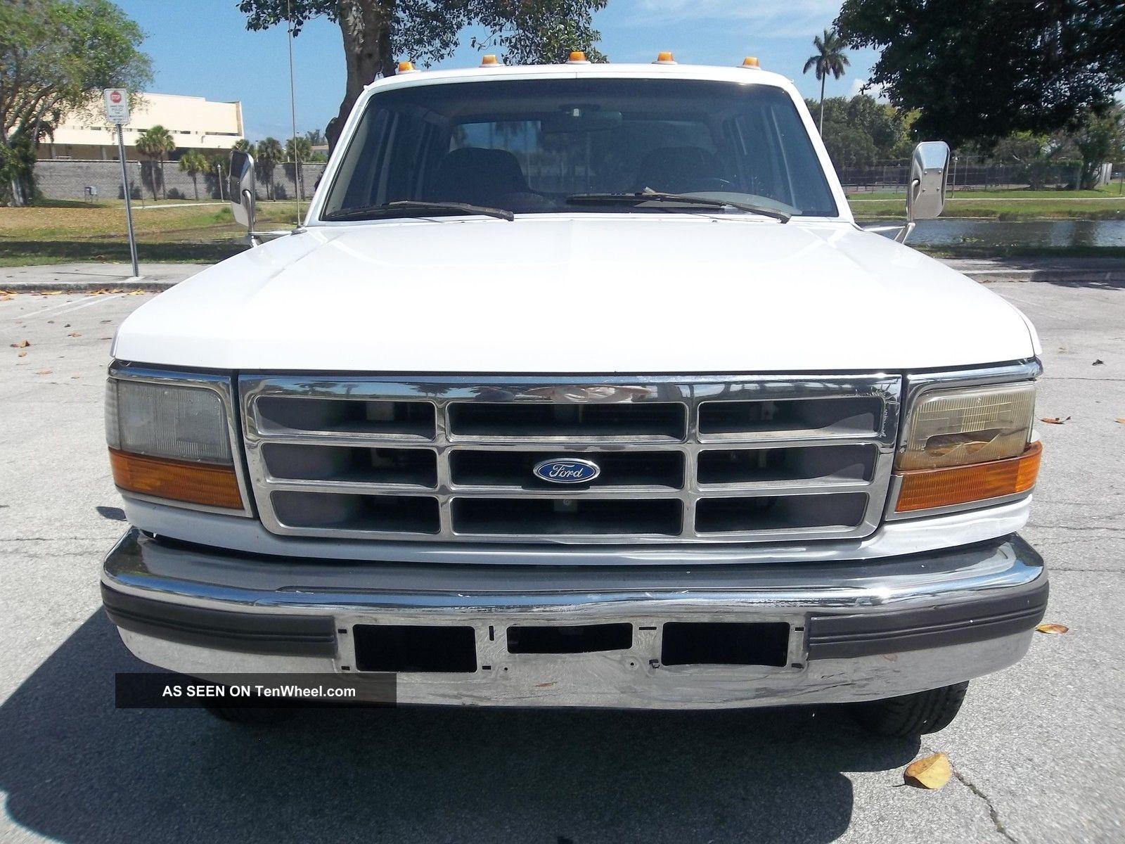 Ford F Crewcab Longbed Dually Th Wheel Lgw