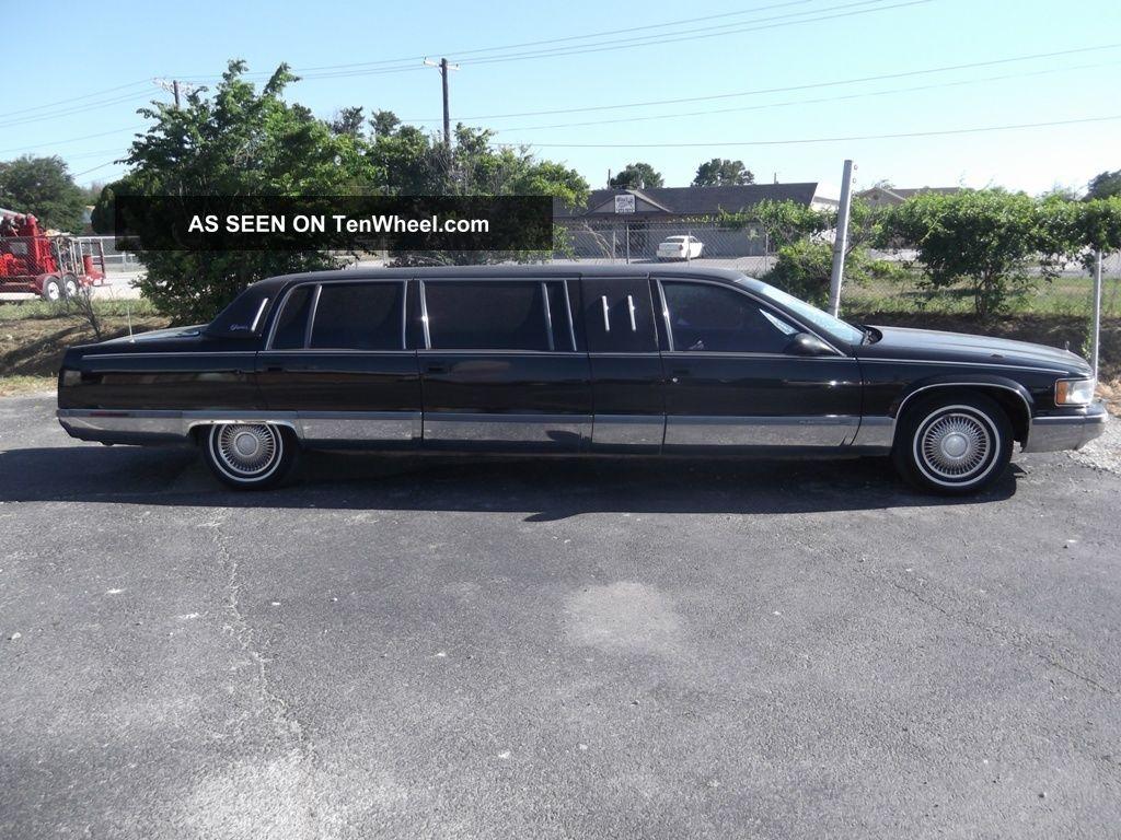 1995 cadillac fleetwood superior limousine sedan 6 door 5 7l. Cars Review. Best American Auto & Cars Review