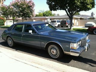 You Are Bidding On An Absolutely 1985 Cadillac Seville 4.  1l V - 8 Ht - 410 photo