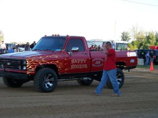 1986 Chevy Pulling Truck photo